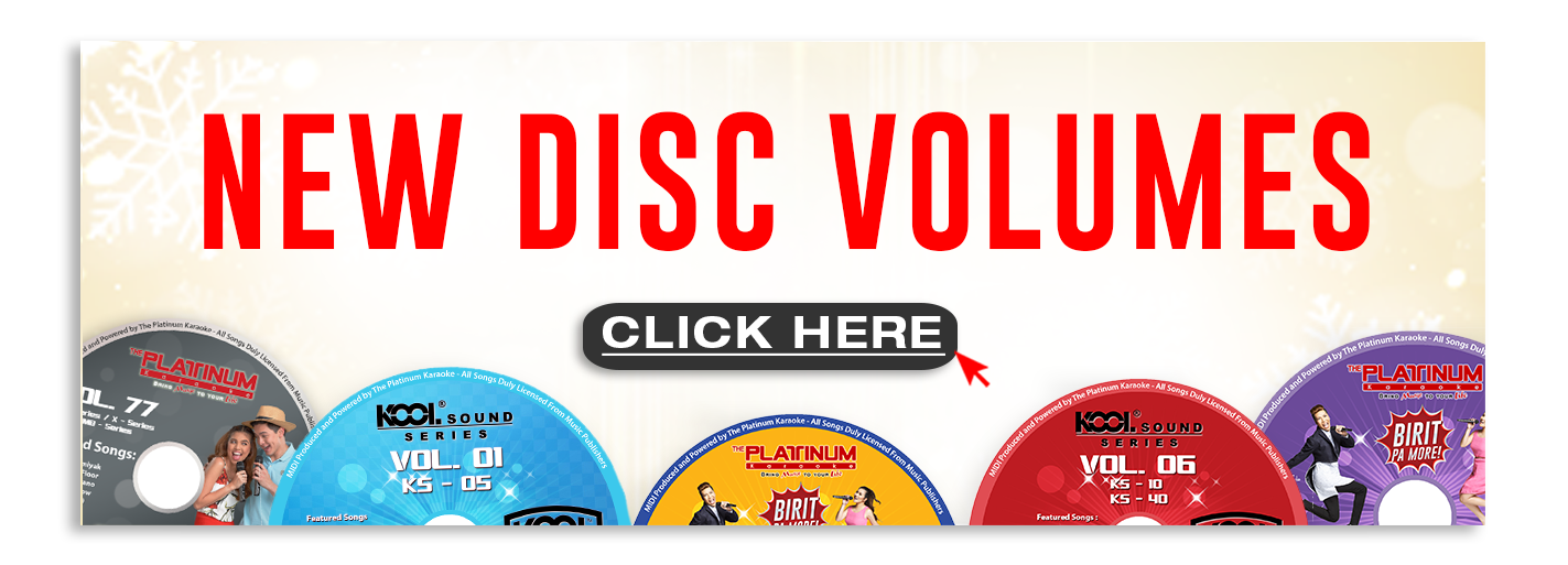 New DIsc Volumes