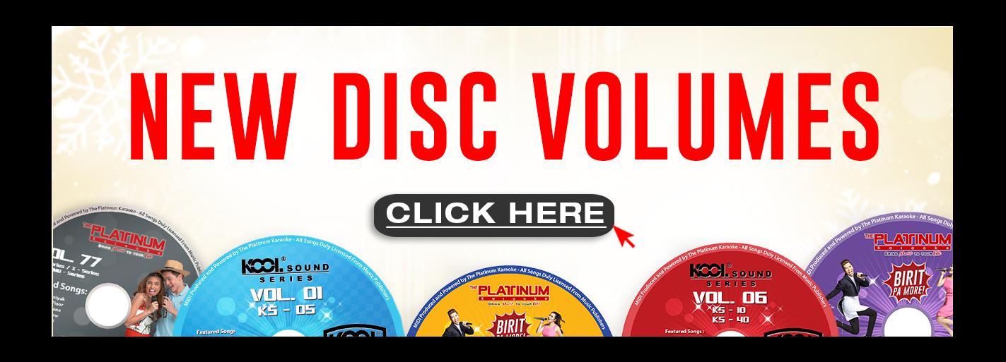 New DIsc Volumes